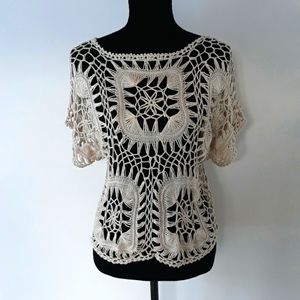 Maurices crochet overlay top